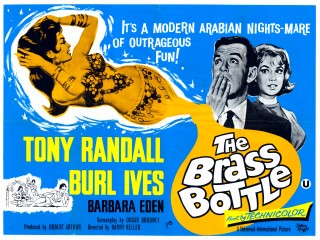 The Brass Bottle 1964 Quad Poster