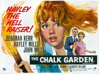 The Chalk Garden 1964 Quad Poster