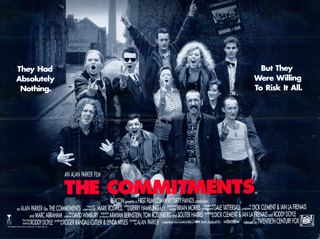 The Commitments 1991 Quad UK Poster