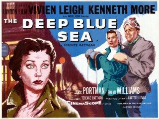 The Deep Blue Sea 1955 Quad Poster