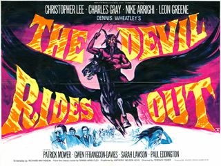 The Devil Rides Out Tom Chantrell Quad 1968