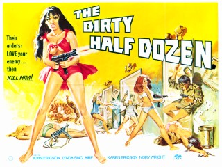 The Dirty Half Dozen 1976 Quad Poster