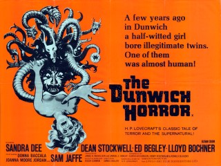 The Dunwich Horror 1970 Quad Poster