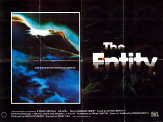 The Entity 1982 Quad Poster