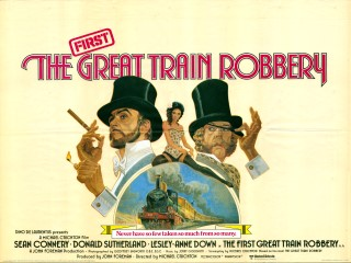 The First Great Train Robbery 1979 Quad Poster