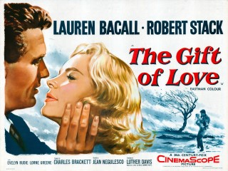 The Gift Of Love 1958 Quad Poster