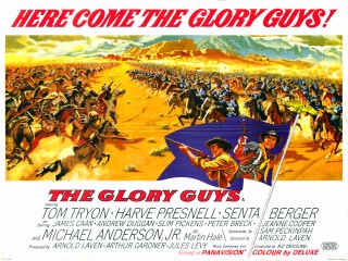 The Glory Guys 1965 Quad Poster