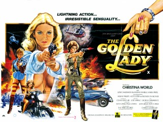 The Golden Lady 1979 Quad Poster