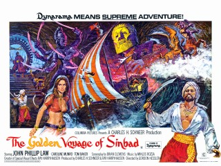 Golden Voyage of Sinbad 1974 Quad Poster
