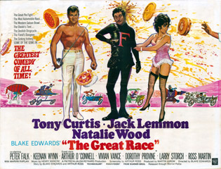 The Great Race 1965 Quad Chantrell Leary