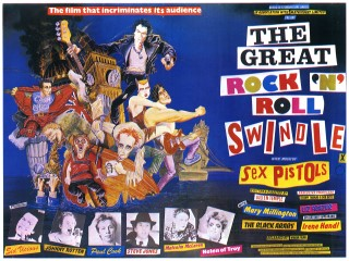 The Great Rock and Roll Swindle 1980 Quad Art M Hirsch