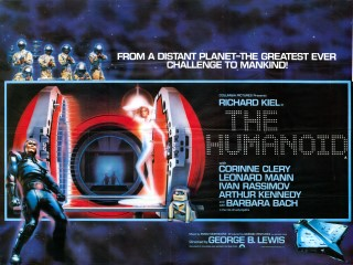The Humanoid 1979 Quad Poster