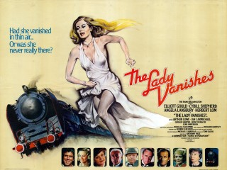The Lady Vanishes 1979 Quad Poster Eric Pulford