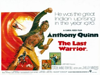 The Last Warrior 1970 US Flap Quad Poster