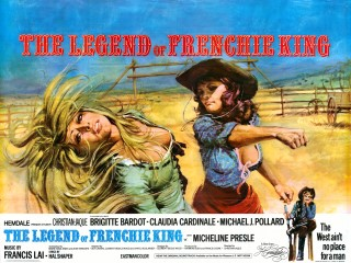 The Legend Of Frenchie King 1971 Quad Poster