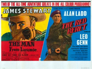 The Man From Laramie 1955 The Red Beret 1953 Quad Double