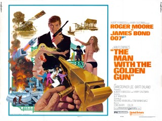 The Man With The Golden Gun 1974 Half Sheet Art Robert McGinnis