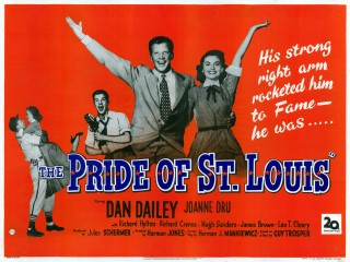 The Pride Of St Louis 1952 Quad Poster