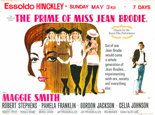 The Prime of Miss Jean Brodie 1969 Quad UK Poster
