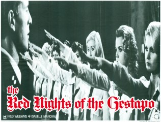 The Red Nights of The Gestapo 1977 Quad Poster