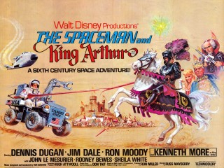 The Spaceman and King Arthur 1979 Quad