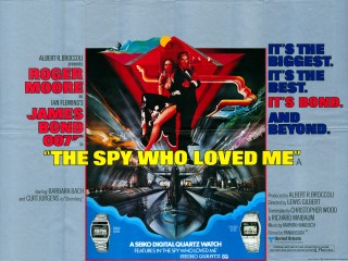 The Spy Who Loved Me 1977 Quad Poster