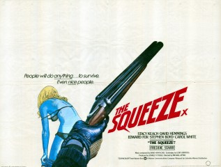 The Squeeze 1977 British Quad Poster