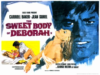 The Sweet Body of Deborah 1968 Quad Poster