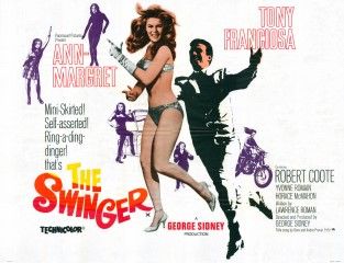 The Swinger Quad Poster 1966