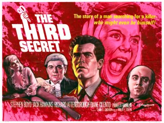 The Third Secret 1964 Quad Poster