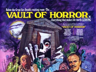 The Vault of Horror 1973 Quad Poster