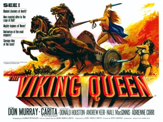 The Viking Queen 1967 Quad Poster