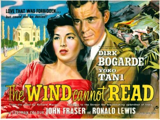 The Wind Cannot Read 1958 Quad Poster