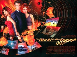 The World Is Not Enough 1999 Quad Poster