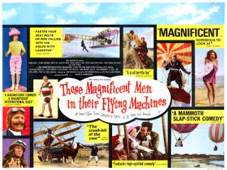 Those Magnificent Men in Their Flying Machines 1965 British Poster