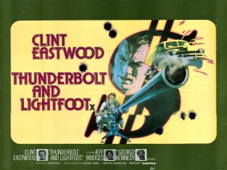 Thunderbolt and Lightfoot 1973 Quad Poster