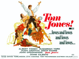 Tom Jones 1963 Quad Poster