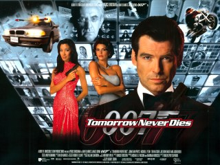 Tomorrow Never Dies 1997 Quad UK Poster
