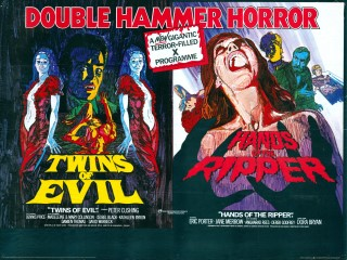 Twins of Evil - Hands of the Ripper Quad Poster