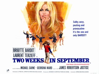 Two Weeks in September 1967 UK Quad À coeur joie