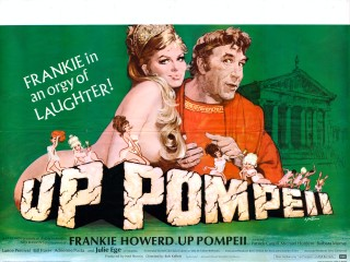 Up Pompeii 1971 Quad poster