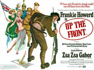 Up the Front 1972 Quad Poster