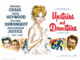 Upstairs and Downstairs 1959 Quad Poster