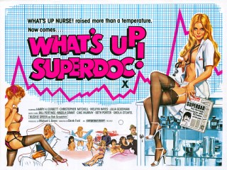 What's Up Superdoc? 1978 Quad Poster