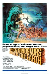 When Dinosaurs Ruled the Earth 1970 US 1 Sheet Poster