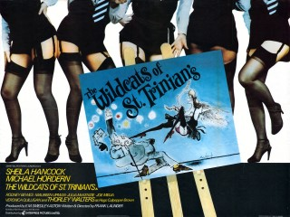 Wildcats Of St Trinians 1980 Quad poster