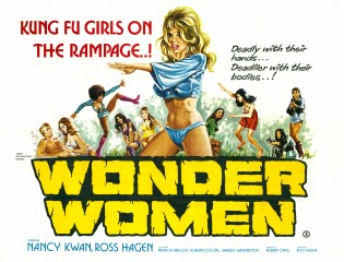 Wonder Women 1973 Quad Britsh Poster